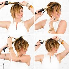 pixie waves how to curl short hair short hair tutorials and shorts