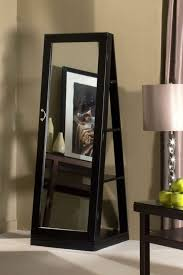 mirror jewelry armoires decor beautiful mirrored jewelry armoire for interior accent