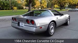 1984 chevrolet corvette for sale 1984 chevrolet corvette c4 coupe ross s valley auto sales