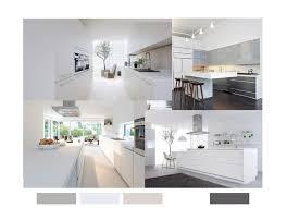 cuisine blanche ouverte sur salon décoration cuisine une ambiance en blanc stinside architecture