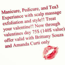 valentines specials 15 best beleza salon specials images on salons