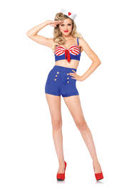 spirit halloween number on deck darling sailor costume solo dance costumes