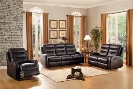 Top Grain Leather Living Room Set Homelegance Coppins Reclining Sofa Set Top Grain Leather Match