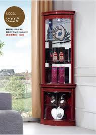 corner cabinet living room 322 living room furniture round corner display showcase wine