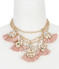 pink jewelry necklace images Women 39 s statement necklaces dillards jpg