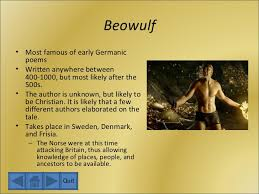 themes of beowulf poem the anglo saxons and beowulf