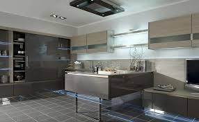 cuisine suspendue conception de meubles de cuisine comptoir en marbre blanc lisse