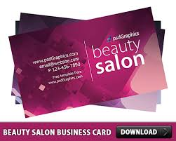 salon business card template free psd psd