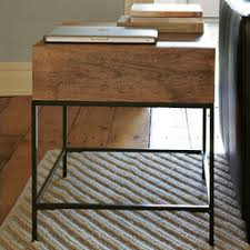 Industrial Accent Table Coffee Side Console Tables West Elm Au
