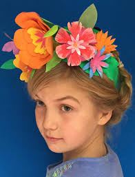 flower headpiece flower crown headpiece cinco de mayo party costume ideas
