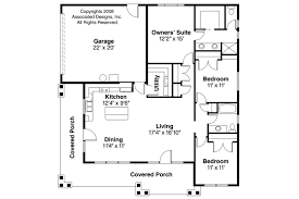craftsman style home floor plans craftsman house plans tealwood 30 440 associated designs