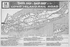 Map Of The Hamptons The Long Island Rail Road