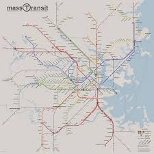 Nyc Subway Map Directions by Fantasy Future Boston Subway Map By David Maerz Almost All Of