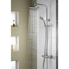 Bathrooms And Showers Direct by Aqualisa Midas Plus Thermostatic Bar Mixer Shower