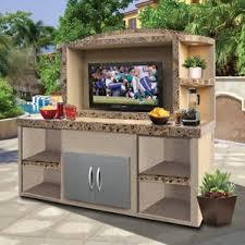 outdoor entertainment waterproof outdoor tv cabinets wayfair