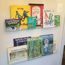 haute indoor couture clear bookshelves for baby b u0027s nursery