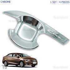 lexus chrome accessories suzuki ciaz chrome door handle insert bowl 4dr trim cover sedan