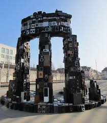 temple made of speakers a modern delphi oracle cnet