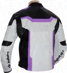 sport biker jacket rtx purple arbiter sports ce biker jacket
