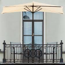 Half Umbrella Patio Half Patio Umbrellas You Ll Wayfair