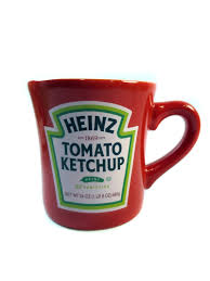 suss japan imported brand heinz ketchup old retro circular design