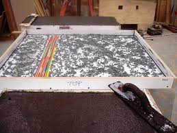 creating concrete countertops how to avoid bug holes pin holes