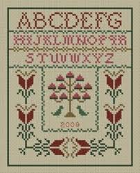 folded cross stitch ornaments craftsy