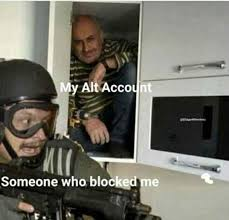 Blocked Meme - someone who blocked me meme xyz