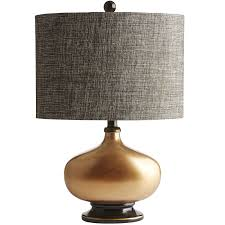 gilded copper base table lamp pier 1 imports