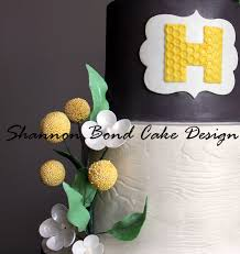 gray and yellow woodland baby shower cake cakecentral com