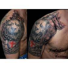 amazing armor tattoos for men polyvore