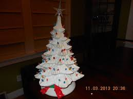 porcelain christmas tree with lights ceramic christmas tree collection on ebay