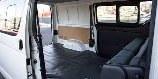 toyota hiace interior 2015 toyota hiace crew van review caradvice