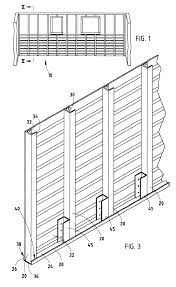 patent us6484460 steel basement wall system google patents