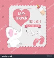 baby shower invitation card stock vector 522531040 shutterstock
