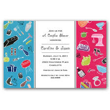 Couple S Shower Mindy Weiss His And Her Couples Shower Invitations Clearance