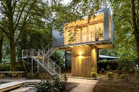 tiny treehouse urban oasis in berlin idesignarch interior