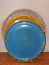 fiestaware egg plate platters trays