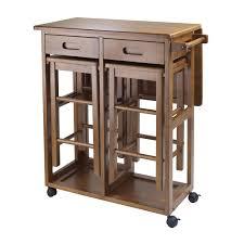 kitchen drop leaf kitchen table design with drawer storage using