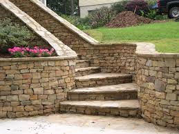Stone For Garden Walls by Blue Stone Hudson Valley Gardens Dry Garden Wall And Pillars From