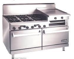 imperial convection oven pilot light range idr 6 residential range 1 standard oven 6 open burners