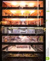 floor layout at mitsukoshi tokyo editorial photography image