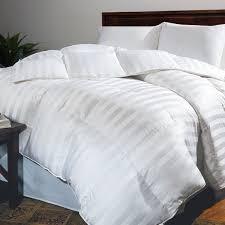 Duvet Vs Down Comforter Hotel Grand Oversized 500 Thread Count Extra Warmth Siberian White