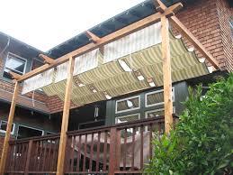Diy Backyard Shade Simple Deck Shade Ideas Clanagnew Decoration