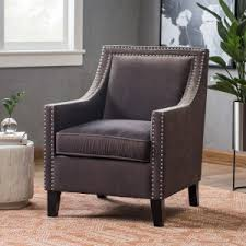 Nailhead Accent Chair Nailhead Trim Accent Chairs Hayneedle