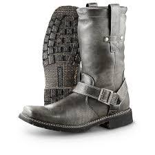 white biker boots men u0027s durango boot city chicago harness boots black 292239