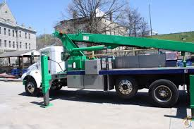 kenworth 4 sale sold 90 u0027 elliott on t300 kenworth for sale crane for in cincinnati