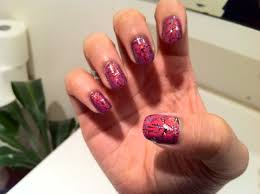 ugly nails beautify themselves with sweet nails