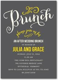after wedding brunch invitations modern post wedding breakfast invitation diy printable lovely