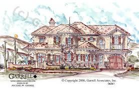mediterranean style home plans sol house plan house plans by garrell associates inc